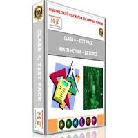 Class 4, Online test pack, Maths+ Cyber