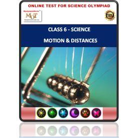 Class 6 Science Worksheets- Motion & measurement of distances