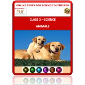 Class 2, Animals, Online test for Science Olympiad