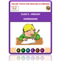 Class 5, Expressions, Online test for English Olympiad