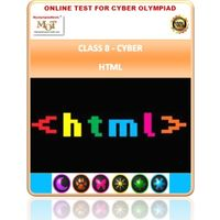Class 8, HTML, Cyber Olympiad Online test