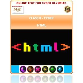 Class 8, HTML, Cyber Olympiad Online test