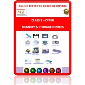Class 5, Memory, Online test for Cyber Olympiad