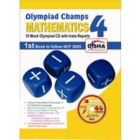 Disha- Maths Olympiad champs- Class 4
