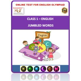 Class 1- Jumbled words- Online test for English Olympiad