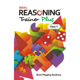 Class 7- Reasoning trainer plus (with solution book) - Mental Ability