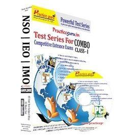 Class 1- IEO NSO IMO Test series ( CD Pack)