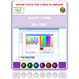 Class 5, MS Paint, Online test for Cyber Olympiad