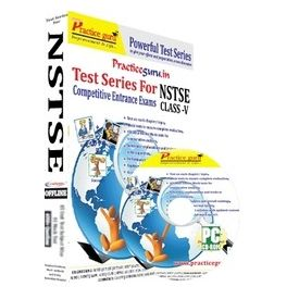 Class 5- NSTSE Olympiad preparation- (1 CD Pack)