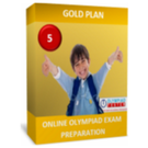 Class 5, NSO Exam Preparation Guide, Gold Plan
