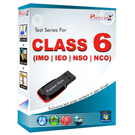Class 6- Combo Pack (IMO / NSO / IEO / NCO) Pen Drive