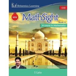 New MathSight With Practice Book 4 (With CD)