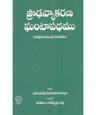 Prouda Vyakarana Gantapadham
