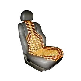 Premium Quality Car Wooden Bead Seat Cover For All Cars - 1 Pc