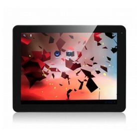 FreeLander PD80 9.7 inch Tablet PC Android 4.0. 4 Rockchip 3066 Dual Core 1.6GHz IPS Screen 16GB Silver