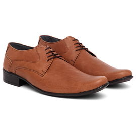 WildHorn 100% Genuine Leather Formal Shoes For Men- Real Leather, 10 indian/uk