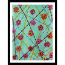 ABSTRACT PAINTING - FLOWERY MAZE by THE NEWLIFE SHOP