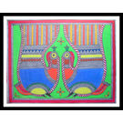 MADHUBANI PAINTING 105 by THE NEWLIFE SHOP