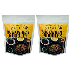 Naturally Yours Buckwheat Noodles 180G (Pack of 2)