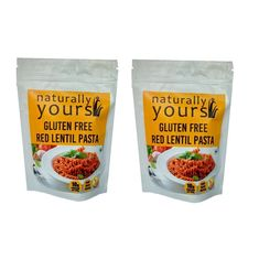 Gluten-Free Red Lentil Pasta 200g (Pack of 2)