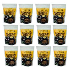 Buckwheat Noodles 45G (Pack of 12)