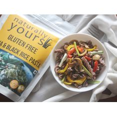 Gluten free Chia & Black Rice Pasta 200g