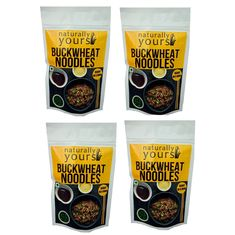Buckwheat Noodles 45G (Pack of 4)