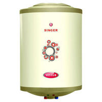 Singer 25 Litre Vesta Plus glass line water heater & Get Wonderchef Turbo chopper worth MRP Rs 2000