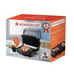 Wonderchef Family Size Super 1460-Watt Tandoori Maker (Grey)