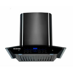 Ecohom Zest Heat Auto Clean 1100m3/hr Kitchen Chimney With Baffle Filter & Gas Sensor