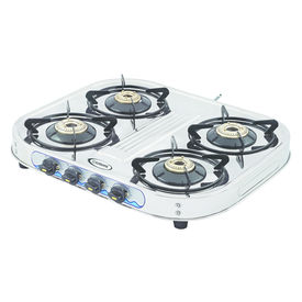 Sunshine Eco All Four Burner Stainless Steel Gas Stove