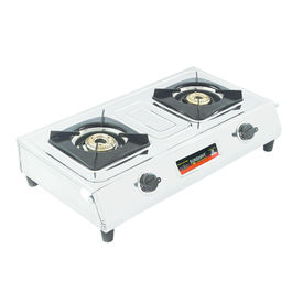 Sunshine Magic Double Burner Stainless Steel Gas Stove