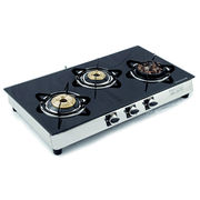 Sunshine Meethi Angeethi Three Burner Toughened Glass Top Gas Stove, png, manual