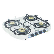 Sunshine Skytech Four Burner Stainless Steel Gas Stove, lpg, manual