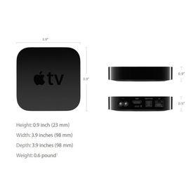 NEW Apple TV (4th Generation, 32GB, MGY52HN/A) WITH 1YR INTERNATIONAL WARRANTY