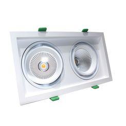 Luminac COB LED Recessed Spotlight - LFLL 399, 4000k / 3856lm