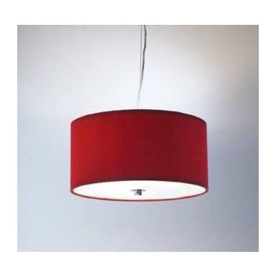 Hanging Fabric Shade, red