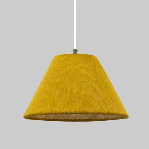 Hanging Fabric Lampshade, violet