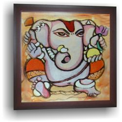Ganesha - Painting, 14 x 14 inches