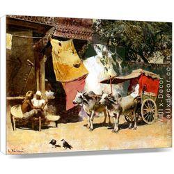 A Rural India Home - Canvas Art - 14 x 18 inch