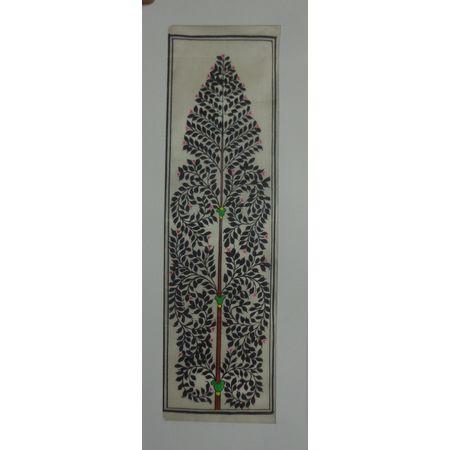 OHP062: Tree of Life - Handmade patta painting.