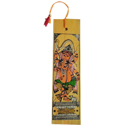 OHP002 Traditional patachitra book marker of Raghurajpur