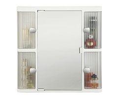 Cipls Plast King Cabinet White+ Free 14 Pcs Multipurpose Buffers - BRC-763-WH