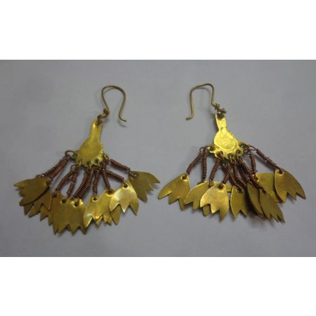 OSJ003: : Tribal Indian Earrings