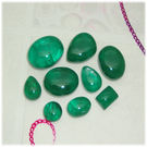 Green Dabling Cabs, free size, 50 ct