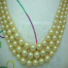 Shell-pearl Beads, p/string