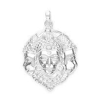 Teen Mukh Lord Hanuman Pendant-PD029