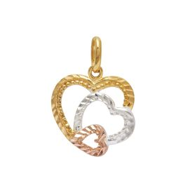 Beauteous Triple Heart Pendant-PD071