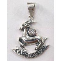 Capricorn Silver Pendant-PD013