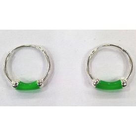 Hoops Silver Earrings-ER014